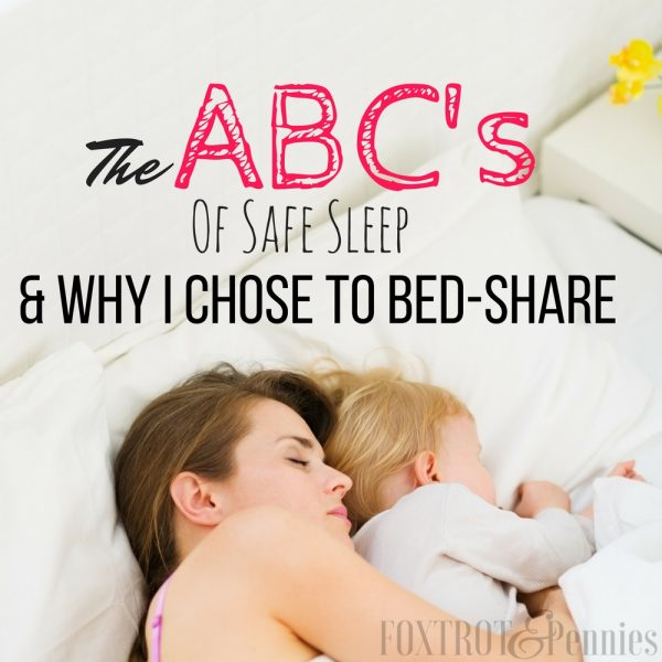The ABC's of Sleep & Why I Chose To Bed-Share