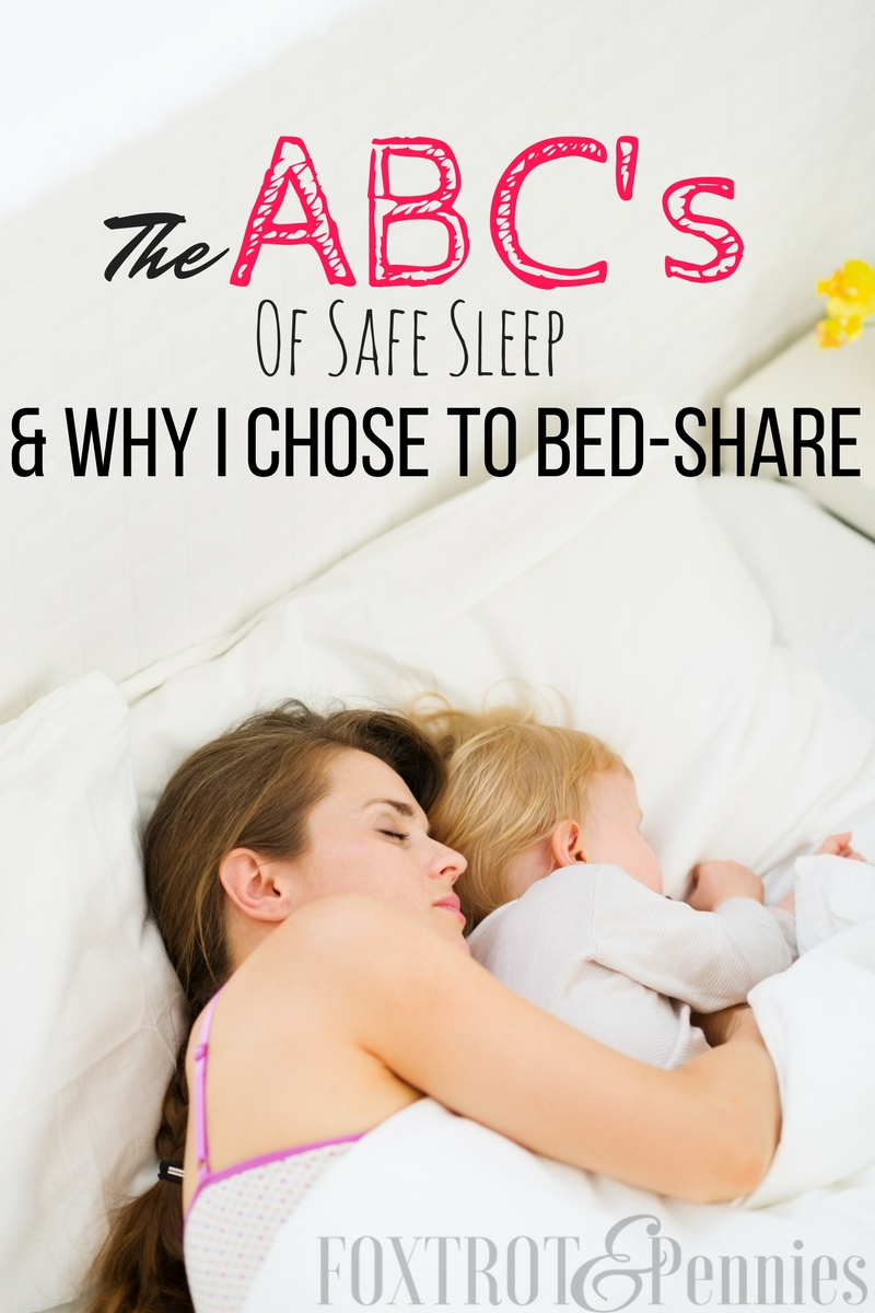 I LOVED bed sharing!! It's totally possibly to safely bed share and move your baby back to the crib when you are ready-- great tips!!