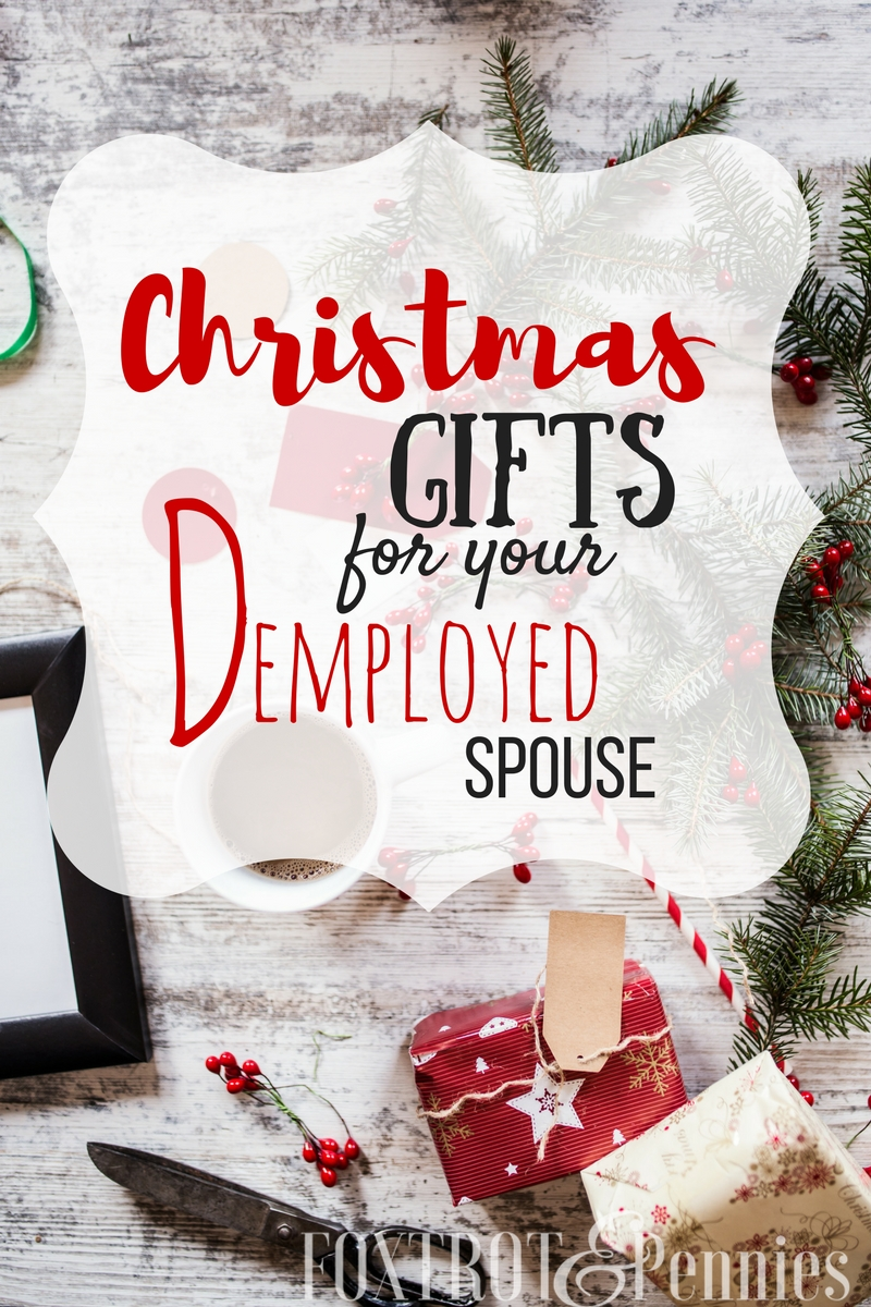 AWESOME ideas for the christmas care package! MY husband would love all these things and it will totally make the holidays a little easier!