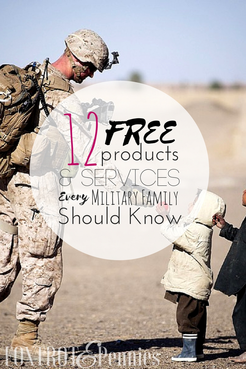 Many companies offer FREE products for military families during deployments and PCSing. EVERY military family should know about these resources, do you? Click to find out!