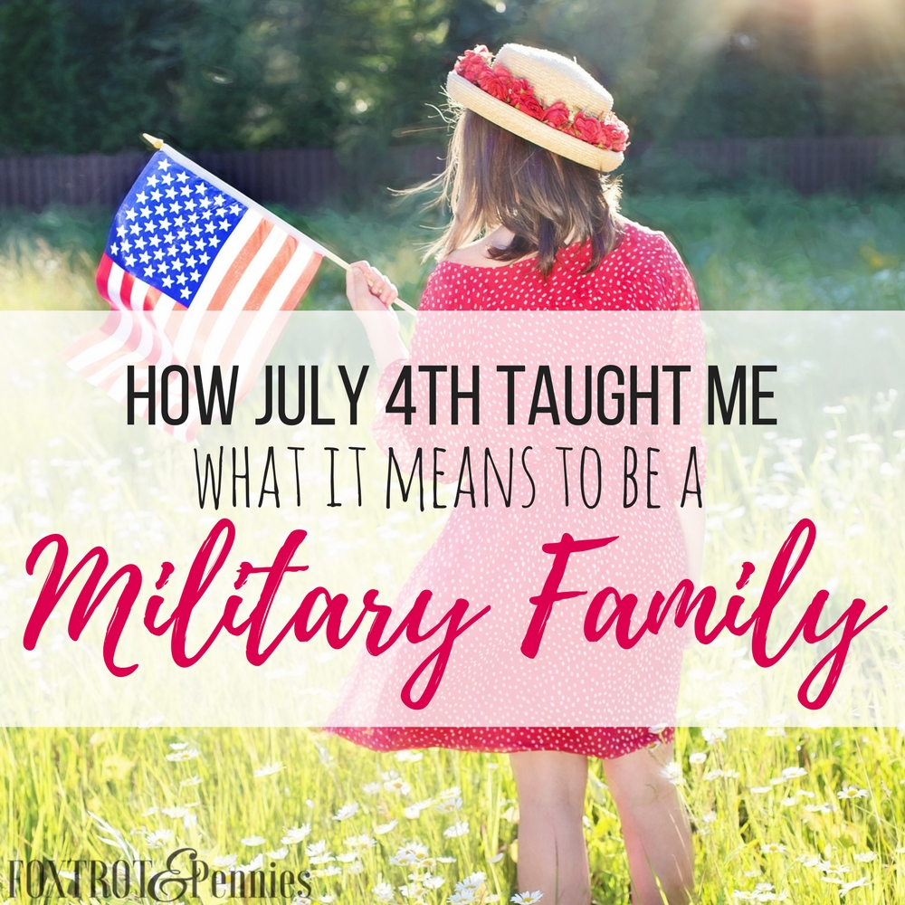 I love this! It's so funny how something so small can mean so much to another family. I love how service members go the extra mile for each other-- they really are a military family