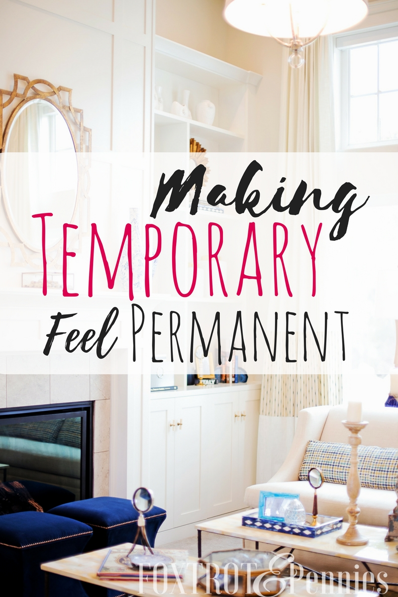 "I always struggle making my new rental feel homey and not just somwhere that's ""good enough"" for the next year or maybe 3. This is such a great resource for making ""temporary"" feel ""permanent""-- awesome!"