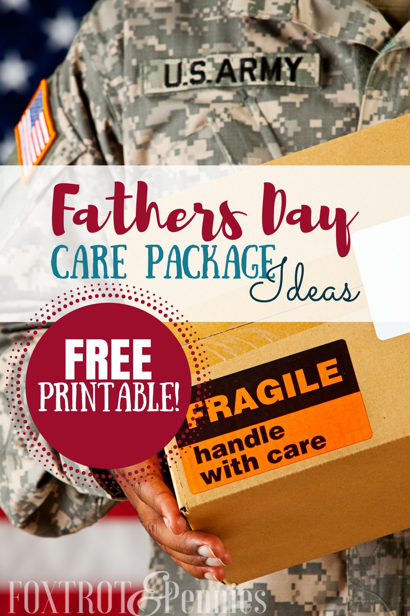 Nice!! If my husband is every deployed during fathers day, I'm definitely going to be referring to this list-- so many things he can actually USE!!