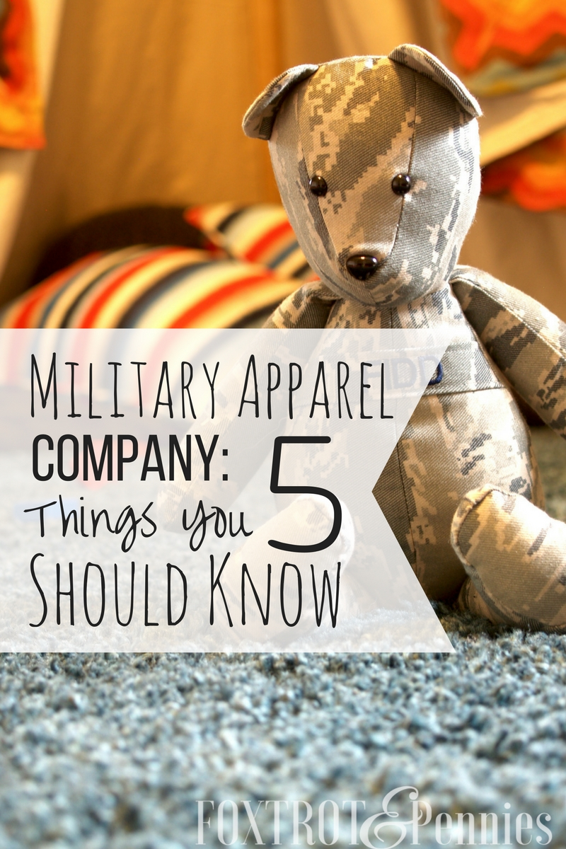 If you've ever been thinking of buying something from Military Apparel Company, check out this article first!! Good info!
