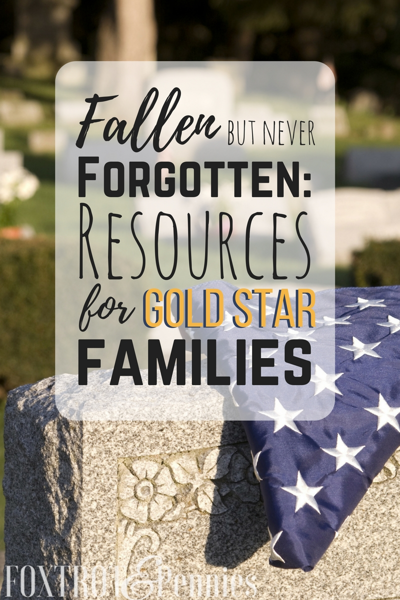 Gold star families struggle so much with the loss of their loved ones. These are great resources for anyone needing help or having a hard time.