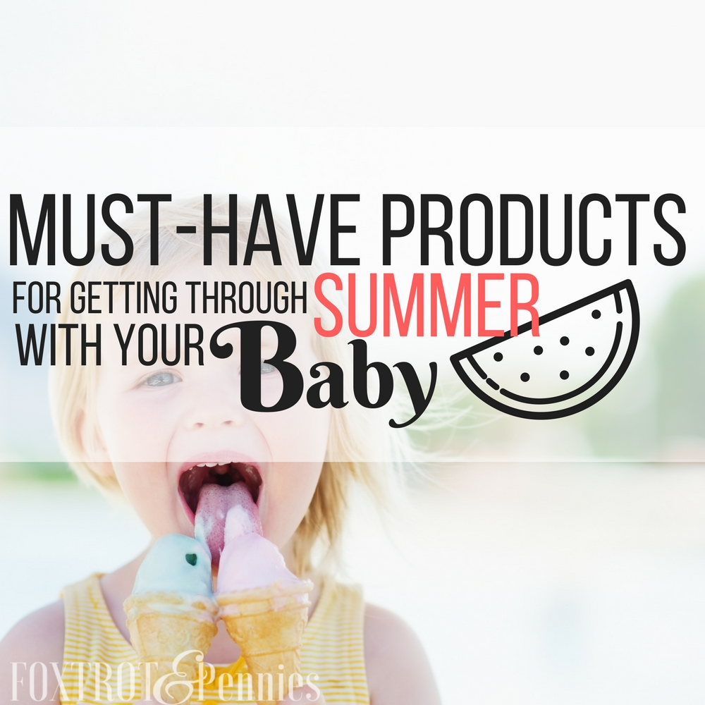Keeping your little one cool and entertained can be tough!! Here are some awesome ways to get through the summer (and have fun too!)