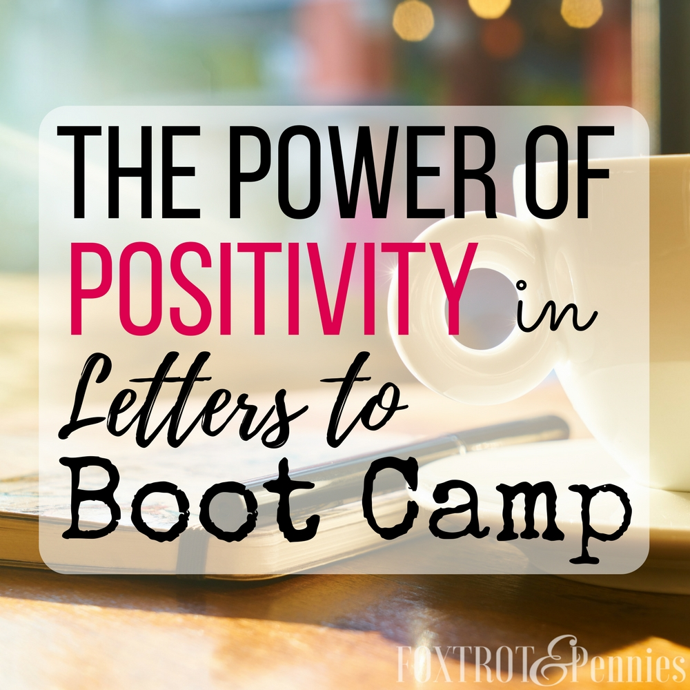 The Power Of Positivity In Letters To Boot Camp - Foxtrot ...