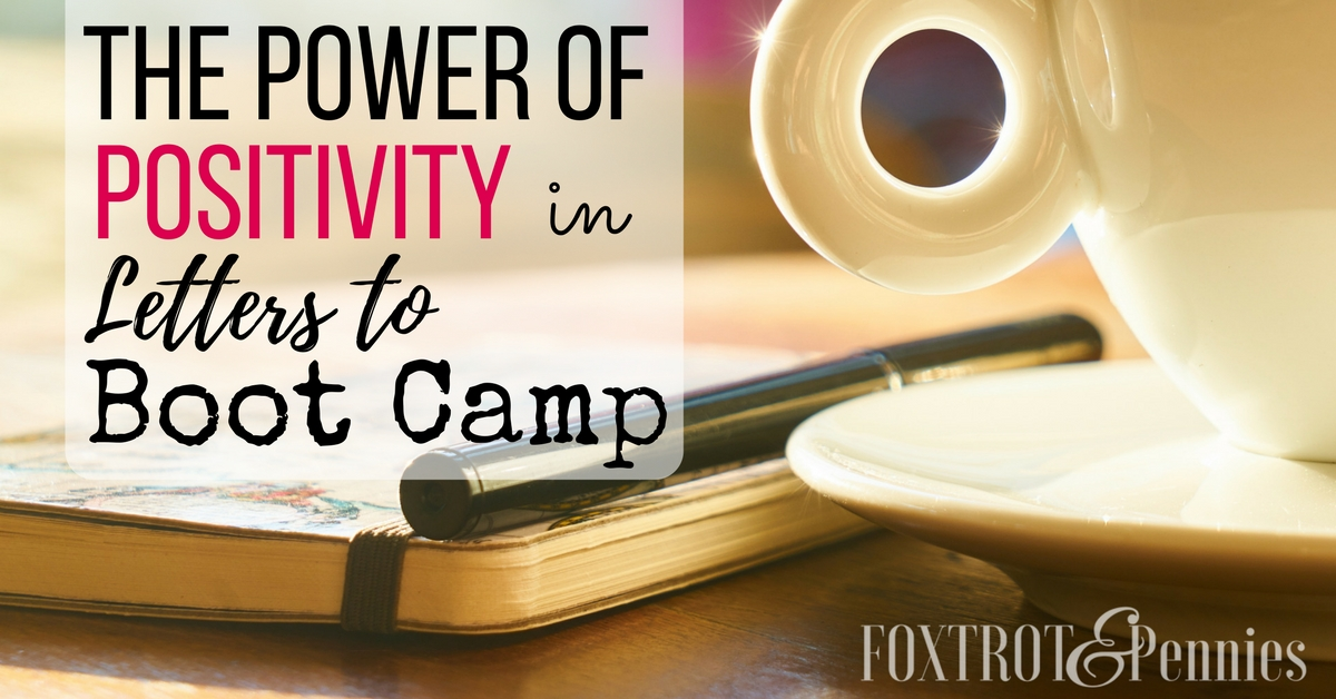 how to write letters to boot camp