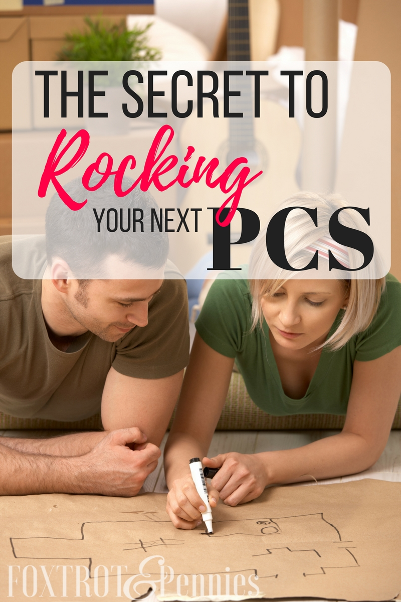 PCSing comes with a lot of stress and anxiety, this ONE secret will help you ROCK your next PCS!!