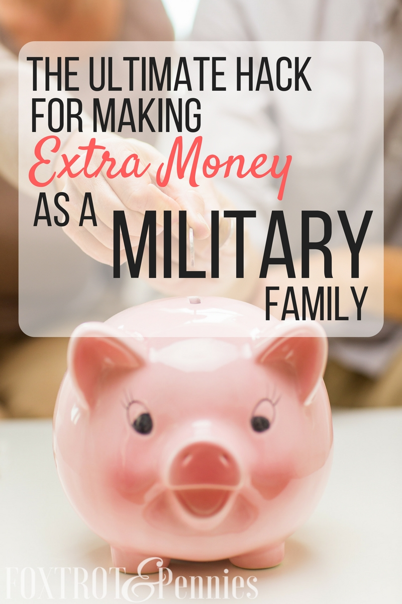 It's no secret that military salaries aren't all that it's cracked up to be... but here's how we can make extra money AND help others in our own military community!
