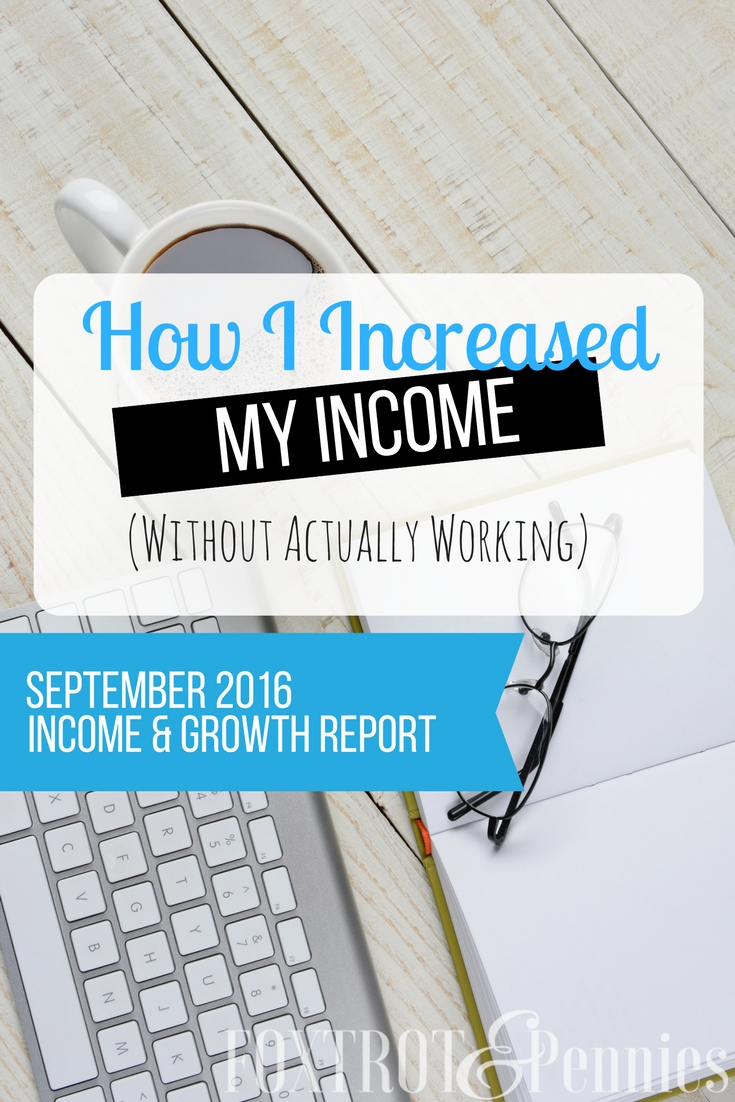 How barely working has actually increased the September income report! WOW!!
