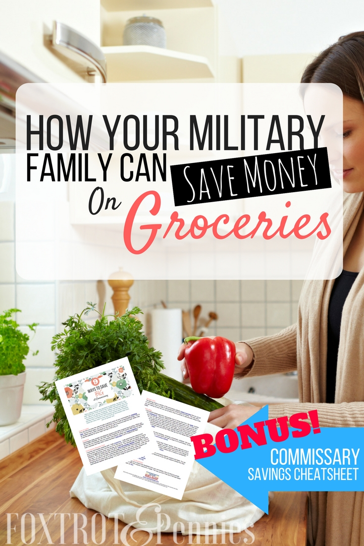 There are SO MANY resources for military families to save money on groceries. Check these out, they really work!! #4 is so easy!!