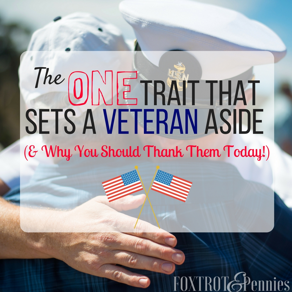 This veterans day, you should know what makes a veteran so special and exactly why you need to thank them today!