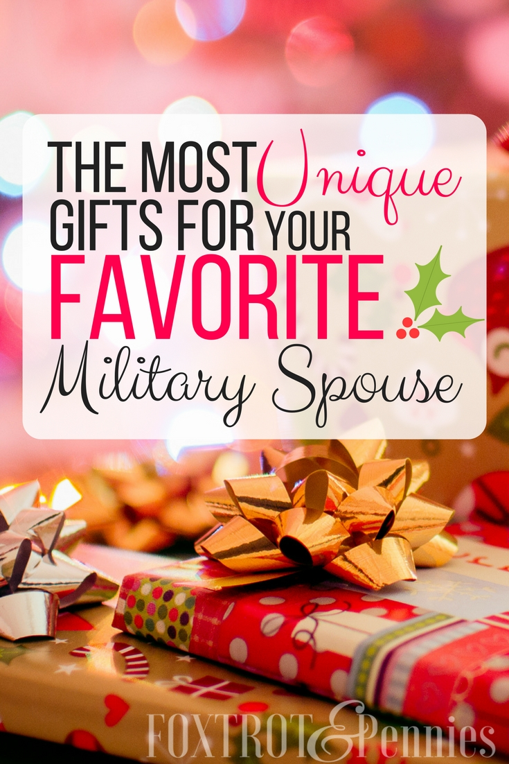 Get the absolute BEST gift for your favorite military spouse this holiday season! Click to learn more!
