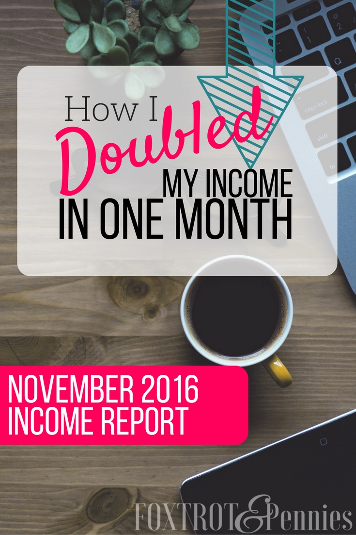 This is exactly how I doubled my income in one month from BLOGGING. Find out how by clicking here!