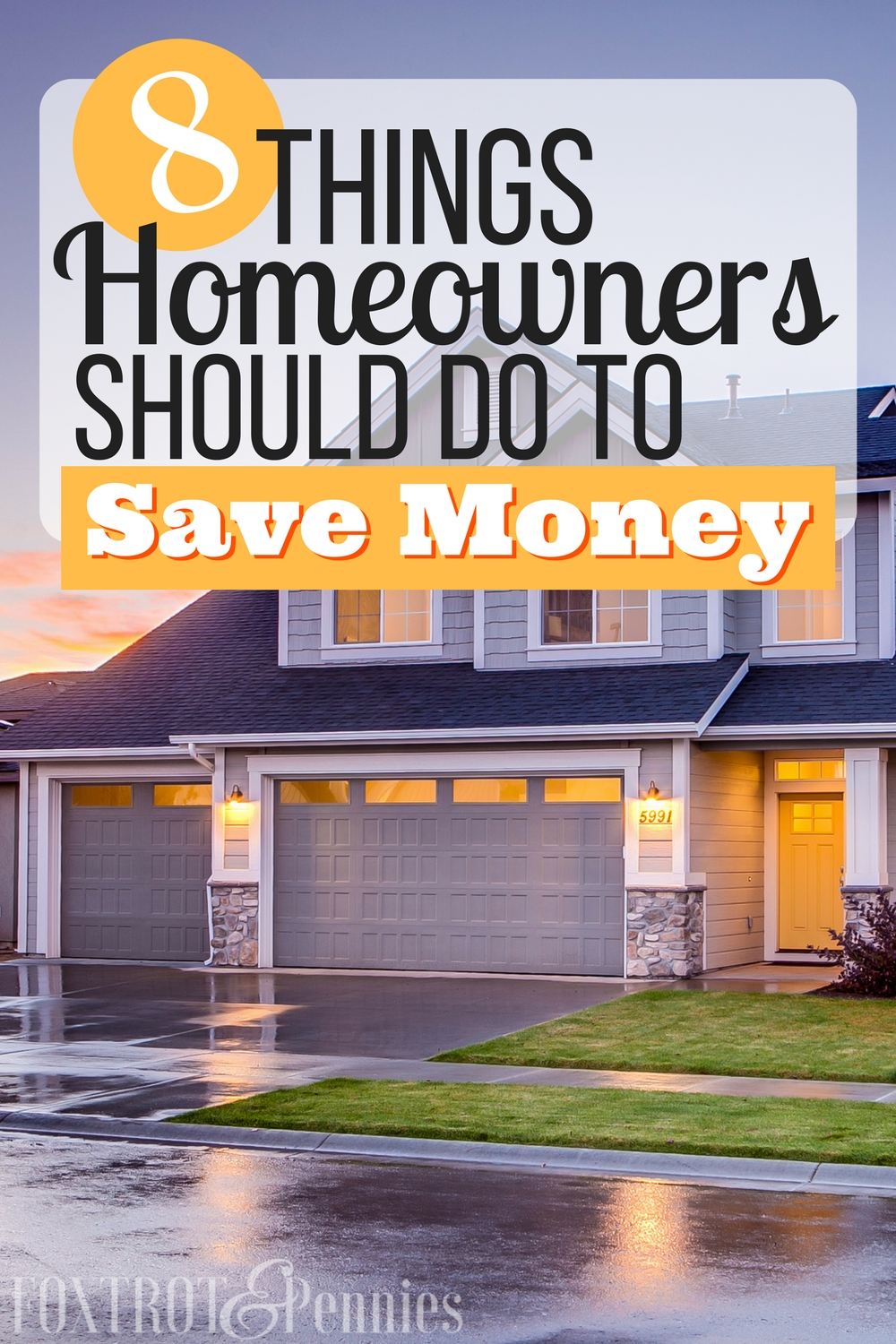 If you are homeowner, you definitely need to read this! 8 things ANY homeowner can do to save money! Click to read more..