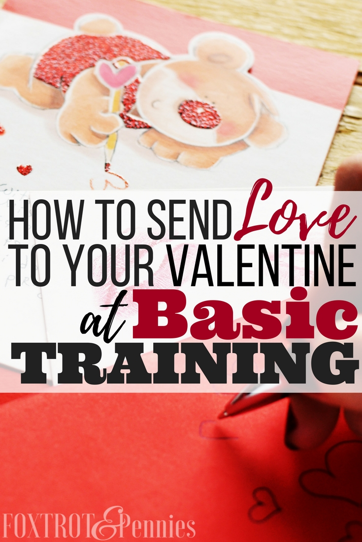 It's so hard to know what I can and can't send to my husband while he's in basic training, you will definitely want to read this before sending anything to your significant other, especially on valentines day or other gift giving holidays!!