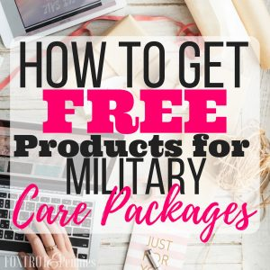 How to Get Free Products for Care Packages