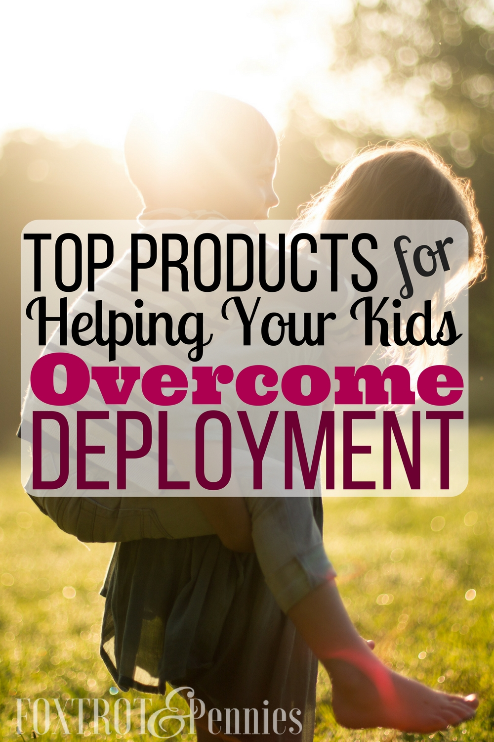 These amazing products have been tested by several military families to actually help your kids with deployment. Deployment is HARD but there ARE things to help your kids feel more connected!