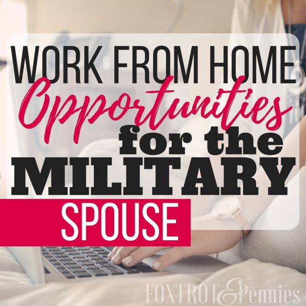 Work From Home Opportunities For Military Spouses