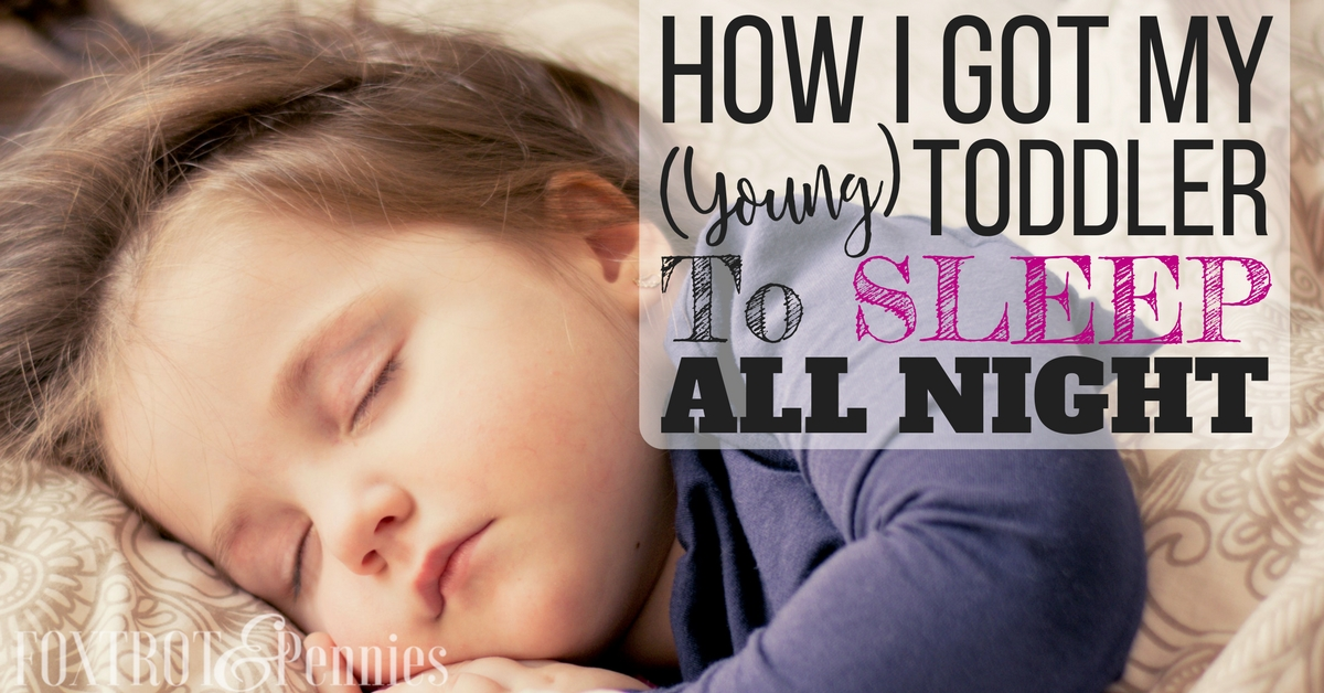 how to help toddler sleep through the night