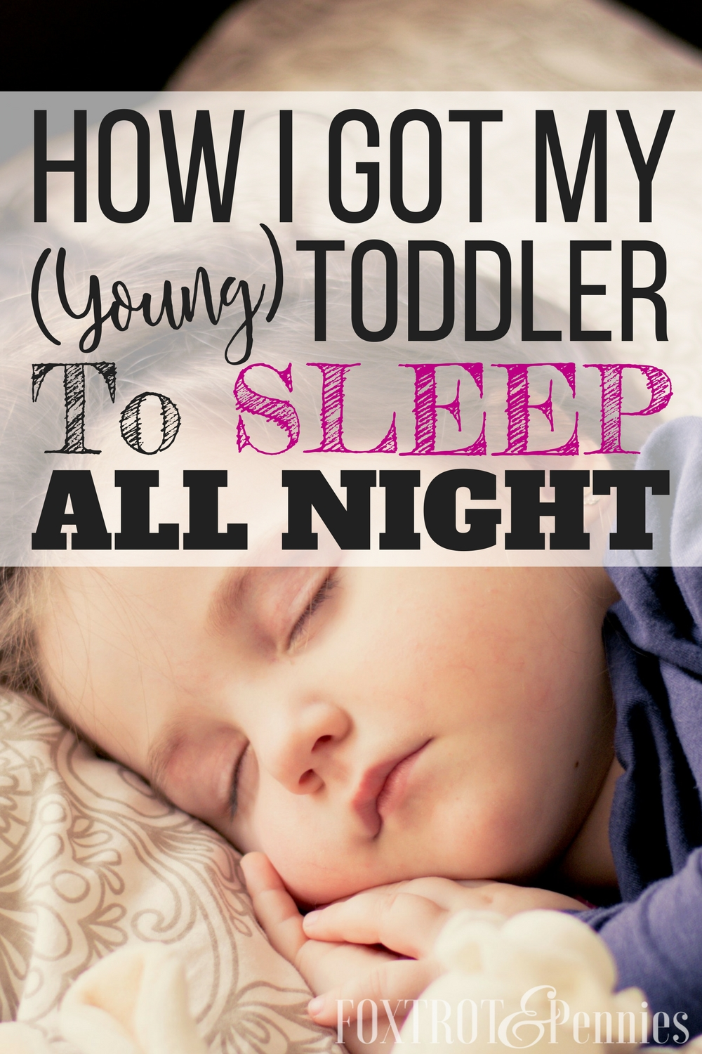 I did all of these things andI couldn't believe it, I actually got my toddler to sleep through the night! I tried everything, but most articles were aimed more at older toddlers that could communicate better--I had such a hard time finding ones for young toddlers! Finally! Now to get some sleep...