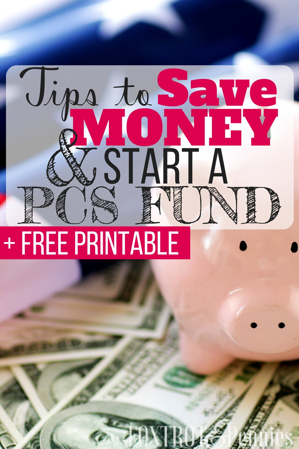 These tips to save money are awesome! I'm so excite to start a PCS fund and boost our savings account. The best part is that these tips are so easy to implement-- i'm terrible at sticking to budgets but this is actually doable!