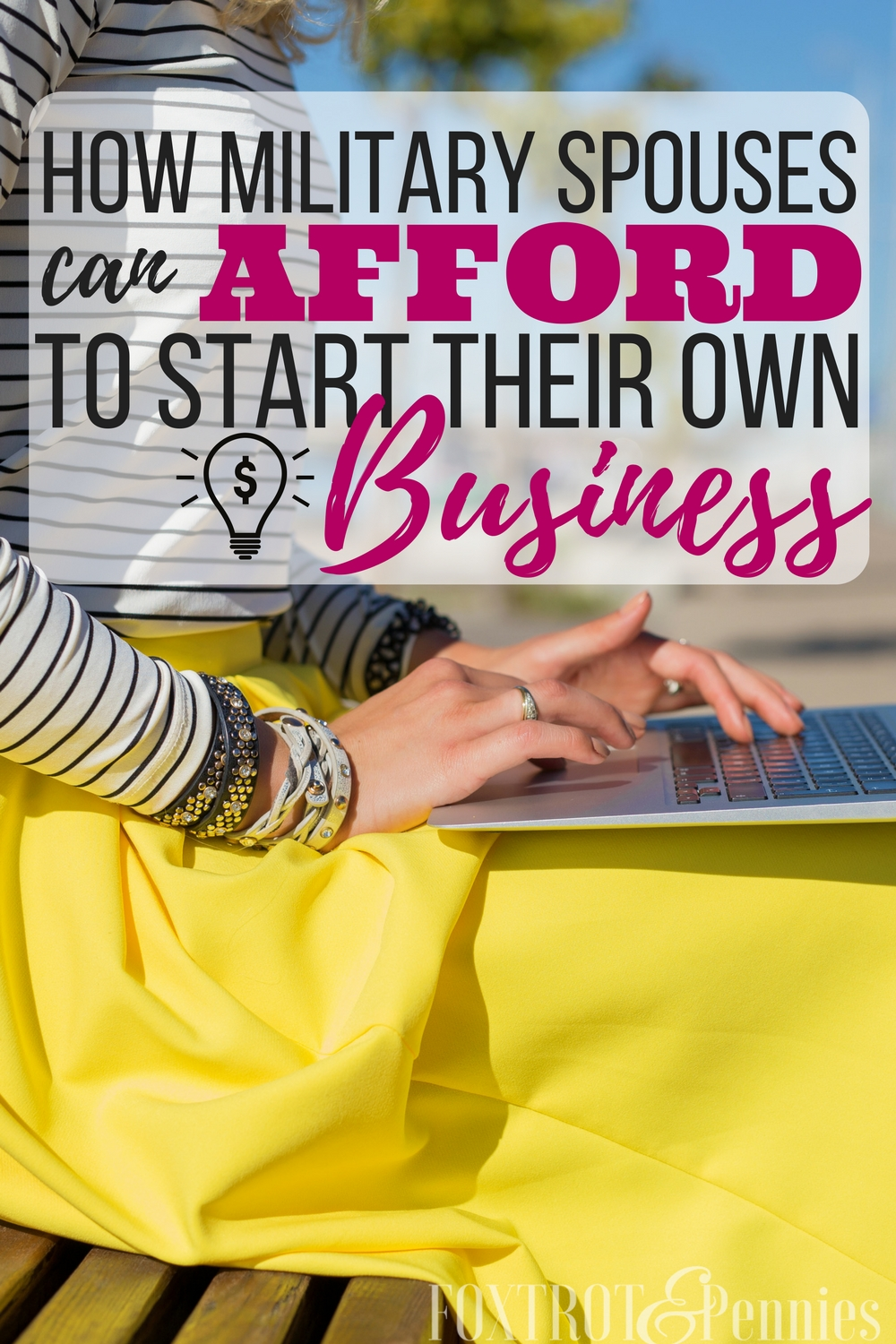 I never thought the answer to us being able to get from paycheck to paycheck comfortably and being able to pay off DEBT would be to start my own business but I was wrong. Here's exactly how you can afford to start your own business (and have it be PCS proof too!!)