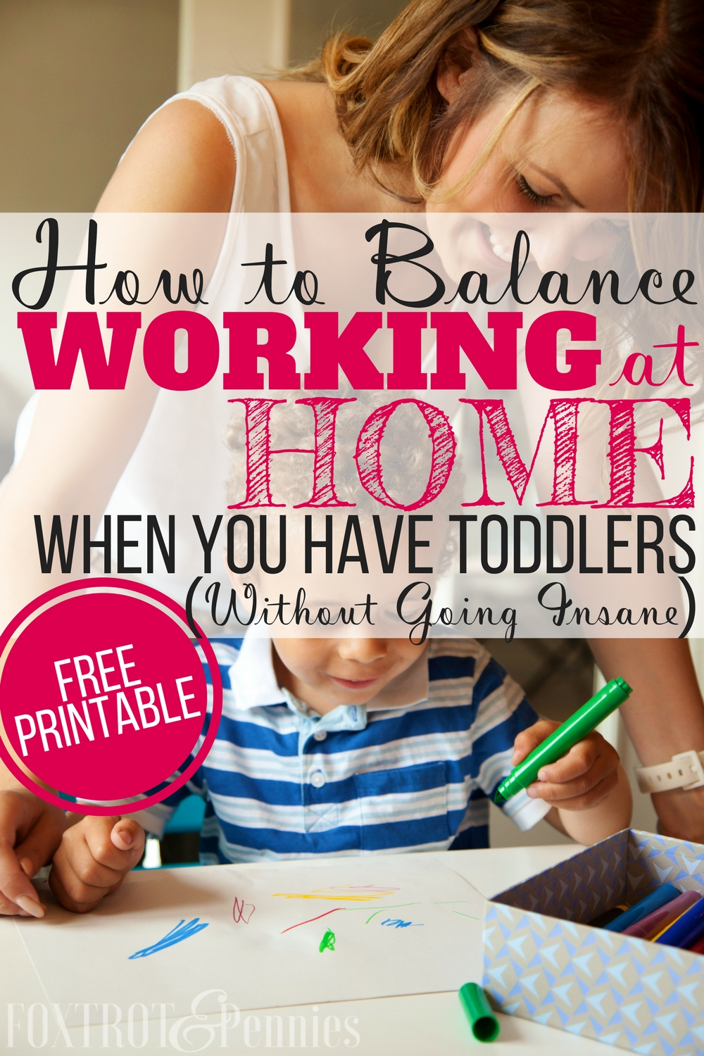 Yes! When I decided to be a stay at home mom and start a business working at home, I really struggled with work life balance and making time for both my work and my kids-- plus my toddler could never seem to entertain himself! Now I am so much more productive and my kids are entertained all day (BONUS: housework is getting done too!!)