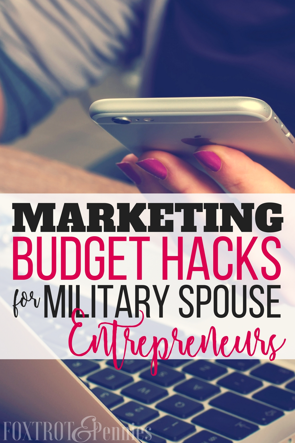 Finally! Effective marketing resources that won't drain the bank account. Being a military spouse entrepreneur, I'm always trying to find the best ways to market and grow my business but at the same time, I want to be smart about my investments. These hacks not only work but are easy on the budget.